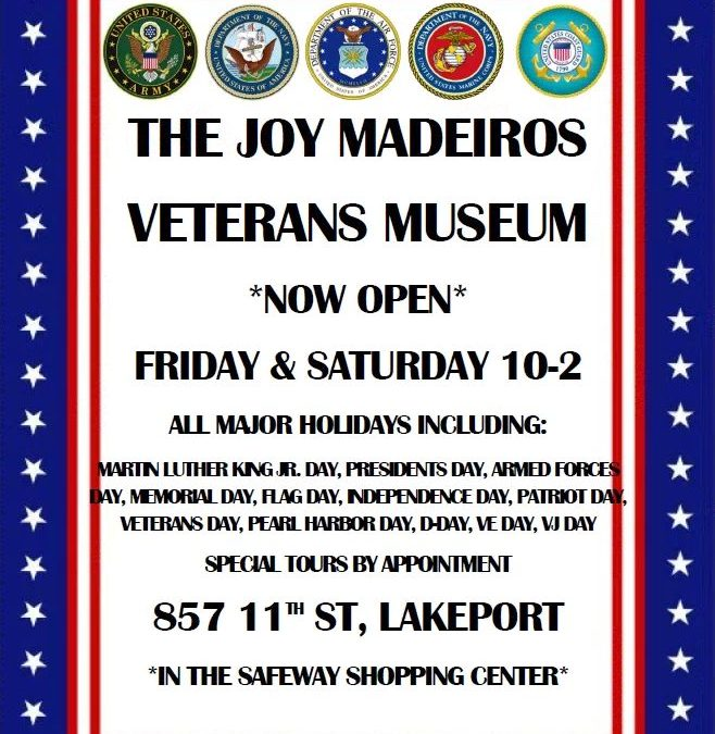 The Joy Madeiros Veterans Museum